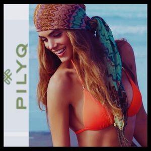 PilyQ Braided Triangle Bikini Top